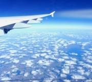 San-Francisco- EU-USA Airbus flight