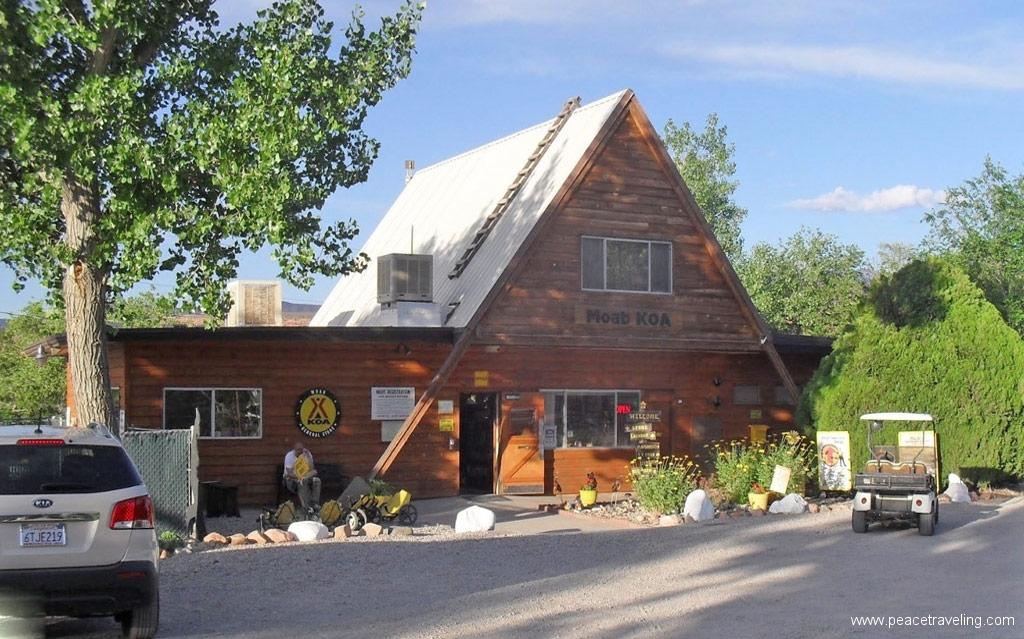 Moab-KOA-camp