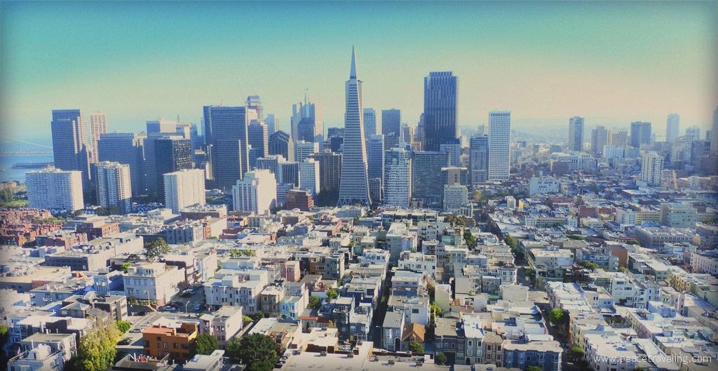 San Francisco City in California