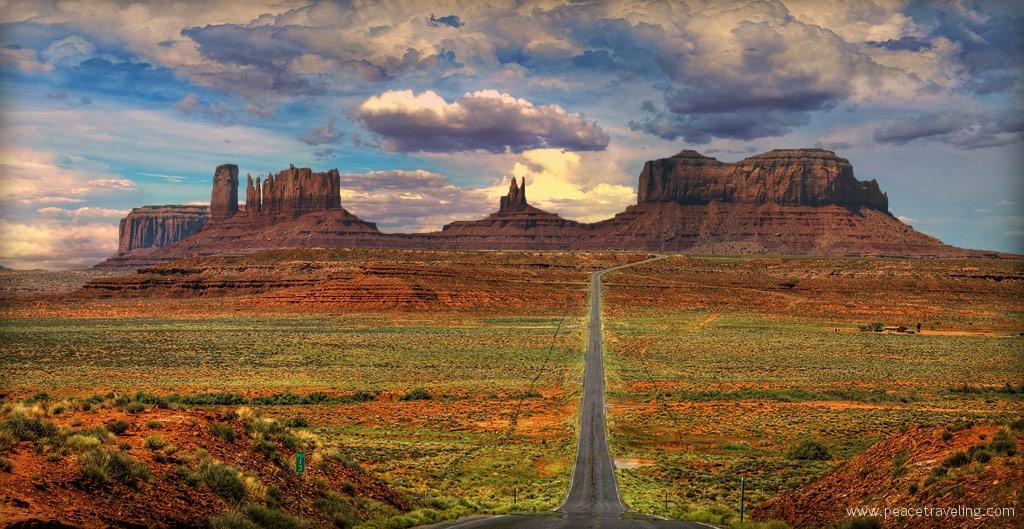 Monument Valley National park - Arizona - Utah